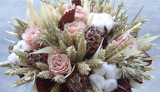 Букеты сухоцветы - как их сделать?